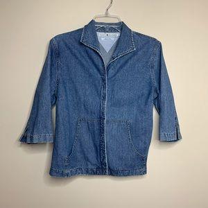 Vintage 90s Tommy Hilfiger denim jacket blazer